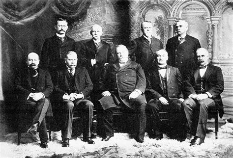 president grover clevelands cabinet