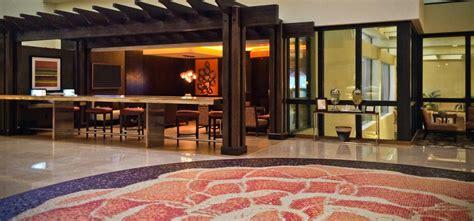 Hilton Costa Mesa Floral Circle Floor Pendant Mosaic