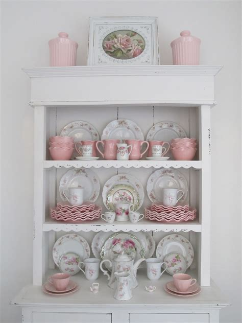 Vintage Möbel Küche by Shabby Chic Hutch In Pink White Vintage Shabby Chic