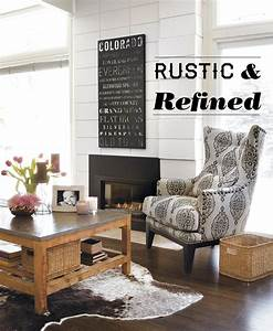 Home Decor: Rustic and Refined Home - Home is Here