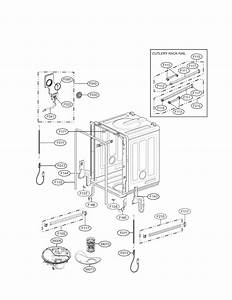 Lg Model Ldf7774st Dishwasher Genuine Parts