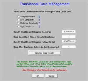 Care Management Documentation Template