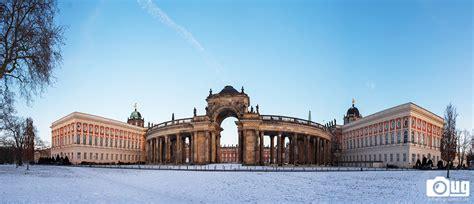 Schnee An Der Uni Potsdam Am Neuen Palais  Urban Graphics
