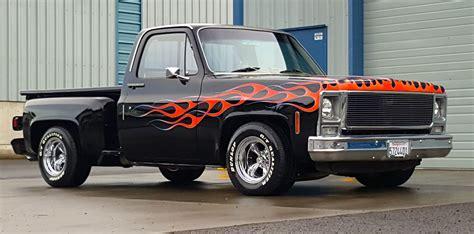 custom truck sales 1979 chevrolet c 10 scottsdale step side pickup custom for