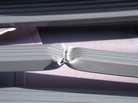 mobilier de jardin r 233 parer une baleine d un parasol