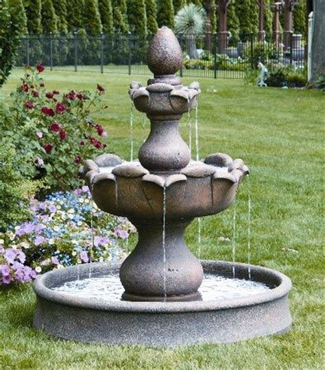 images  indoor outdoor fountains  pinterest garden fountains lawn ornaments