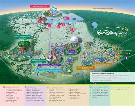 walt disney world resorts resort map wdw disney