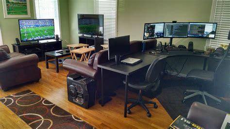 Living Room Battlestation In 2019 Game On Video Game