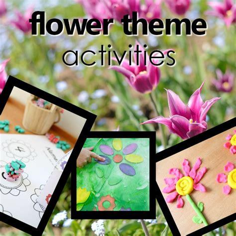 flower theme preschool activities fantastic amp learning 777 | preschool flower theme square