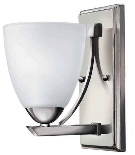 Single Bathroom Light Fixtures by Hinkley Lighting Single Light Bathroom Vanity Fixture In