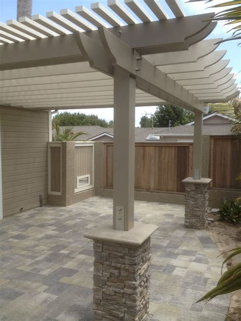 patio patio with pergola home interior design