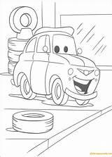 Garage Luigi Coloring Pages sketch template