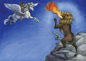 Bellerophon fights the Chimera by suburbanbeatnik on ...