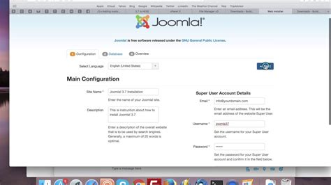 How To Install Joomla! 37? Youtube