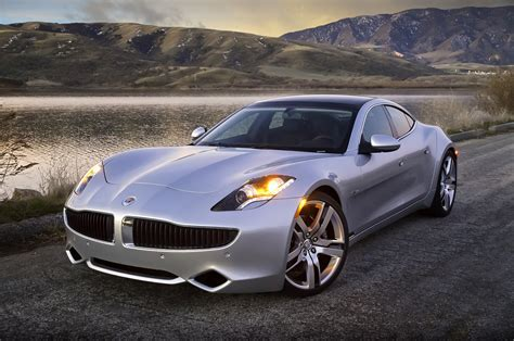 Elegant And Luxury Car Fisker Karma (2012