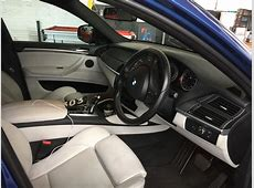 My NEW TOY Blue bmw X6M X6 M CARBON WHITE LEATHER INTERIOR