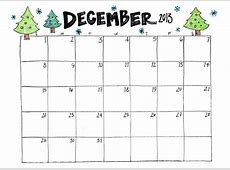 7 Best Images of December Calendar Printable Calendar