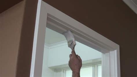 best corner window how to paint a door frame or door jamb correct