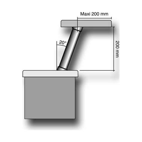 barre support cuisine support de snack cylindrique 9106 cm la quincaillerie du