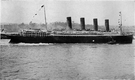 where exactly did the lusitania sink the sinking of the lusitania