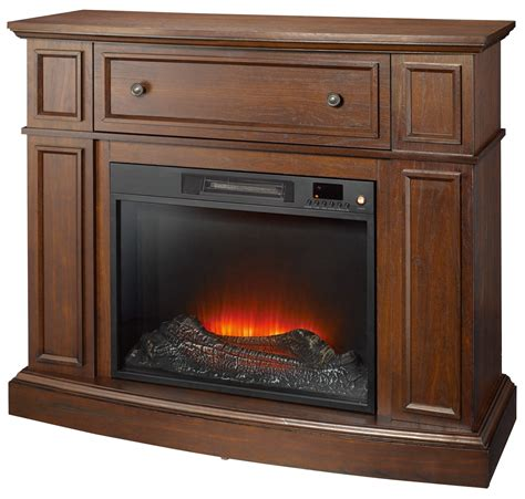 essential home shaw electric fireplace cherry shop