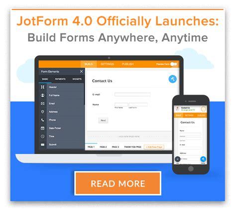 the easiest online form builder jotform