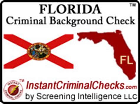 State Criminal Background Check Florida Criminal Background Checks For Pre Employment
