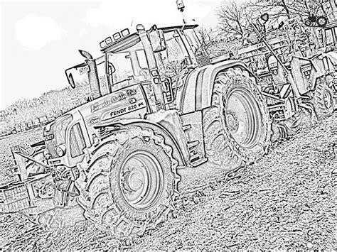 Kleurplaat Tractor Met Ploeg by Kleurplaat Trekker Deutz Traktor Ausmalbilder