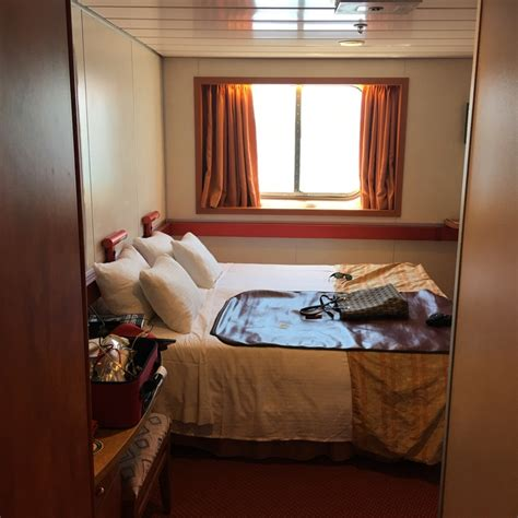 carnival fascination cabin plan oceanview cabin r104 on carnival fascination category 6b