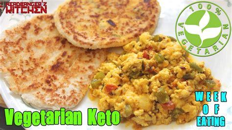 vegetarian keto week  eating keto vlog headbanger
