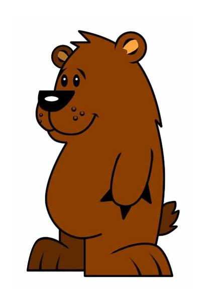 Cartoon Bear Bears Clipart Clip Funny Cliparts