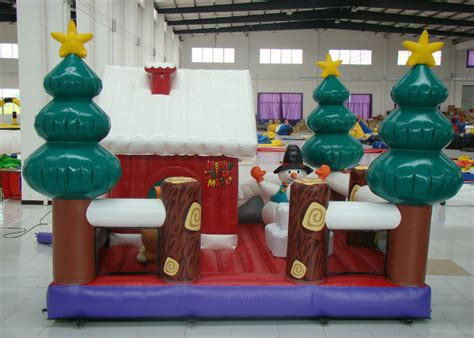 large blow up christmas decorations up tree decoration inflatables bouncer house