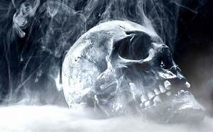 Skulls On Fire Wallpapers - Wallpaper Cave