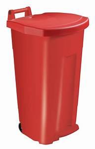 Poubelle De Tri Cuisine : poubelle tri s lectif cuisine rossignol 90 l rouge ~ Dailycaller-alerts.com Idées de Décoration