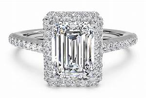 4 vintage inspired emerald cut engagement rings ritani With emerald cut engagement ring with wedding band