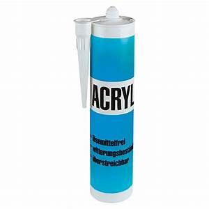 Acryl Silikon Aussenbereich : acryl wei 300 ml bauhaus ~ Pilothousefishingboats.com Haus und Dekorationen