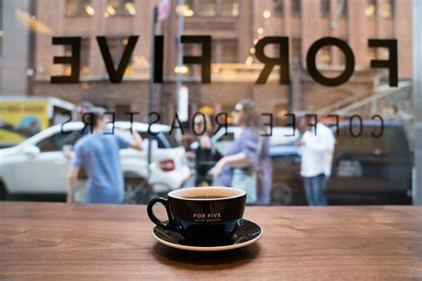 Storing baked beans in the tin. New York City's Most Advanced Coffee Shop: Where Technology Meets Hospitality