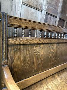 Long, Antique, Bench, 8ft, Wood, Entryway, Bench, With, Back, Dining, Bench, Narrow, Entryway, Bench