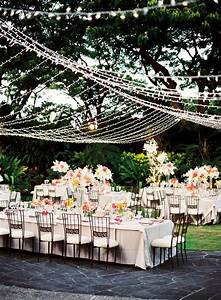 Outdoor wedding reception ideas to make you swoon for Outdoor wedding reception lighting