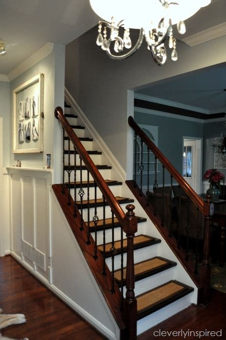 sanding banister spindles top hits revisited diy refinishing stairs cleverly inspired