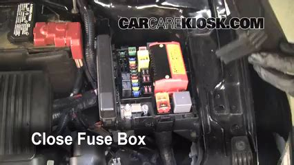 2000 Eclipse Fuse Box Relay N by Replace A Fuse 2006 2012 Mitsubishi Eclipse 2006