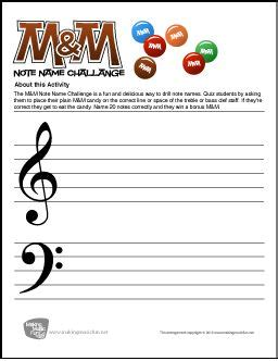 mm note  challenge  note  worksheet