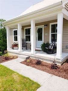 my, farmhouse, style, front, porch