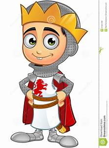 St. George Boy King Character Stock Vector - Image: 51921799
