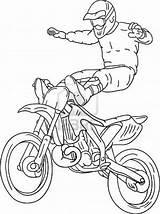 Coloring Motocross Moto Freestyle Desenhos Cross Imprimir Colorir Motorbike Coloriage Cool Vector Desenho Motos Drawing Absolutely Transportation Dessin Libre Estilo sketch template