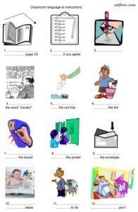 classroom language vocabulary  expressions exercises