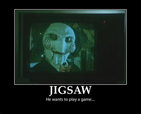 Saw Doll Meme - jigsaw movie quotes quotesgram