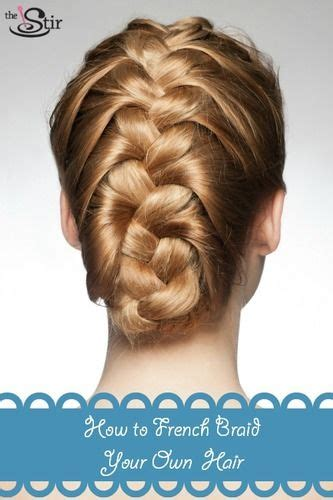 french braid   hair   easy steps