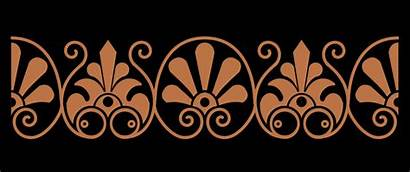Greek Ancient Vase Pattern Ornamental Clipart Svg