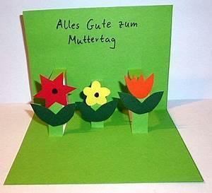 Vatertag Basteln Grundschule : muttertagskarte mit blumen muttertag basteln meine enkel und ich made with ~ Frokenaadalensverden.com Haus und Dekorationen